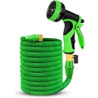 Gruper 50-Foot Expandable Garden Hose (Green)