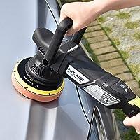 ELECWISH 950W Car Buffer Polisher, 2000-4800Rpm Variable Speed Random Orbital Polisher Dual Action Polisher 6 inch Polisher w/Digital Screen, Detachable Handle, 6.6 ft(2m) Cord for Car Polishing
