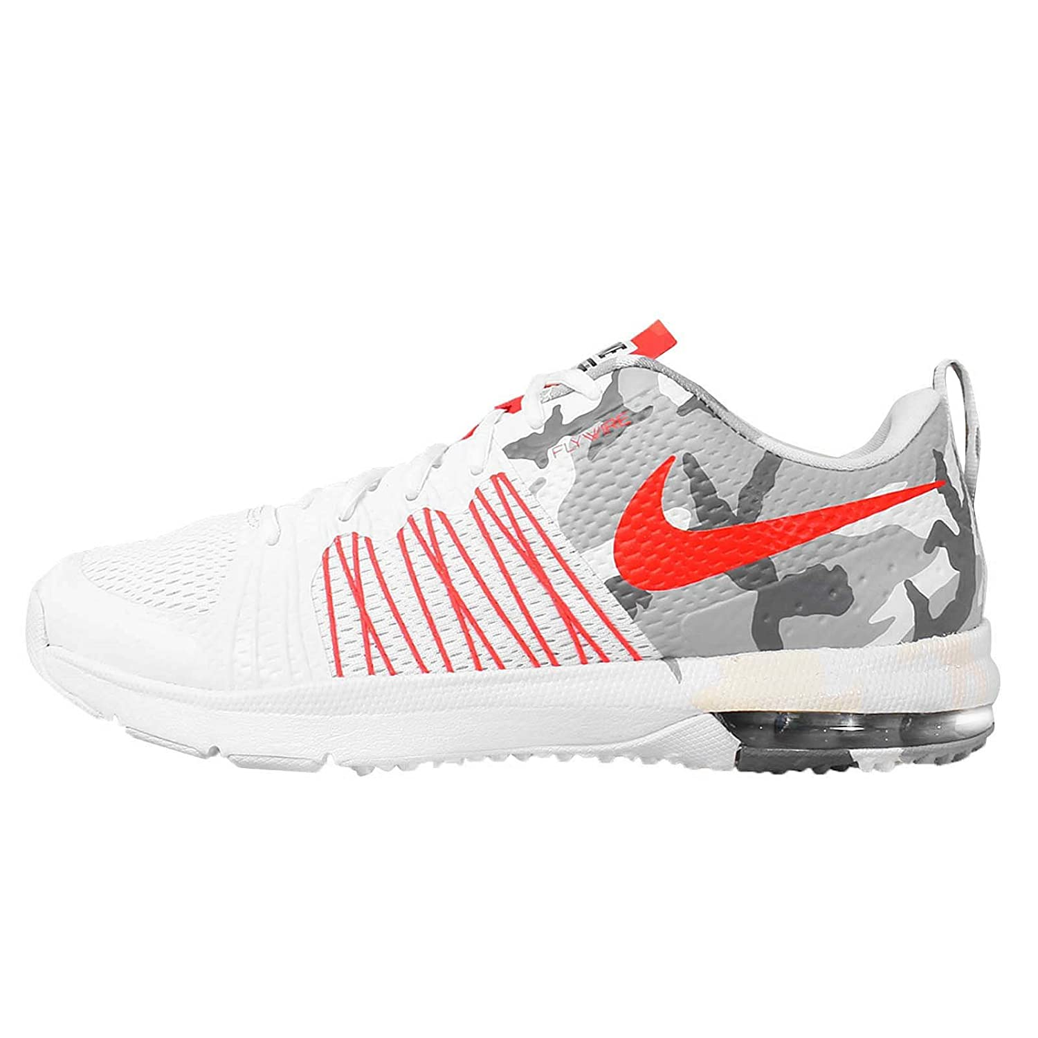 competitive price d2fb2 34fd5 Nike Men s Air Max Effort TR AMP, White Bright Crimson-Black (CAMO), 9 M  US  Amazon.co.uk  Shoes   Bags