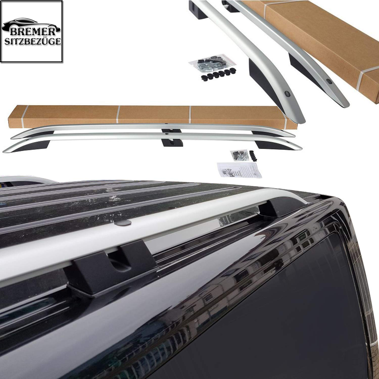 Bremer Barres de Toit en Aluminium pour VW Caddy /à partir de 2011-2019 Argent/é Mat