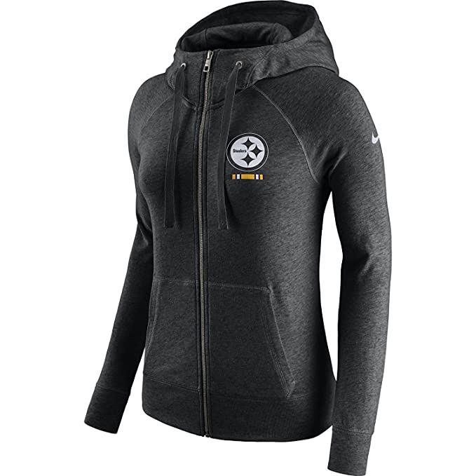 huge discount 4fcca 18233 Nike Women's Pittsburgh Steelers Full Zip Vintage Gym Hoodie