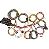 amazon com ez wiring mini 20 21 circuit wiring harness automotive speedway motors universal automotive retrofit 22 circuit wiring harness