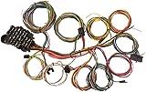 amazon com cncshop 21 circuit wiring harness 17 fuses universal x 1966 ford mustang harness universal 22 circuit wiring harness