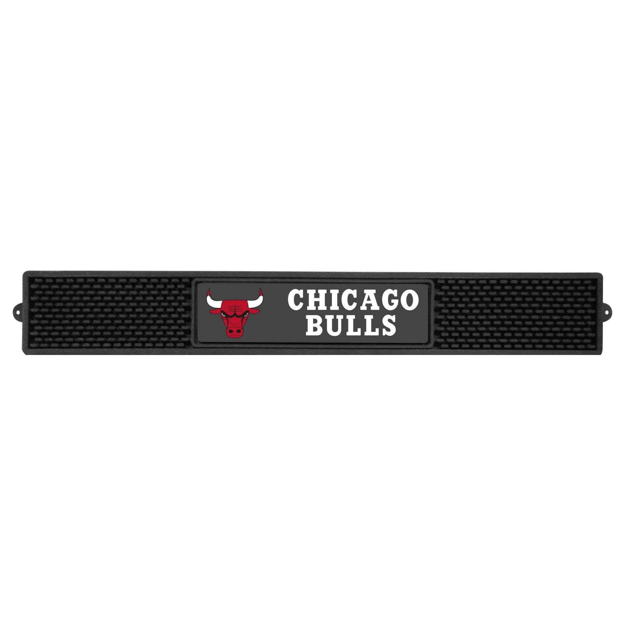 Fanmats NBA Chicago Bulls Vinyl Drink Mat