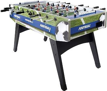 28acfb138a5314 Leomark Table de Babyfoot Table En Bois Jeu de Football, Table de Baby-Foot