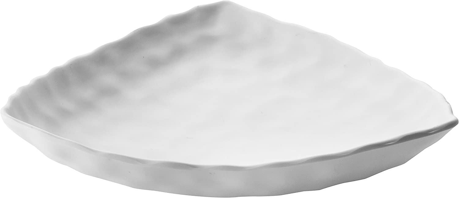 Online limited product Direct sale of manufacturer Lacor Triangular Melamine Tray White x cm 30 7
