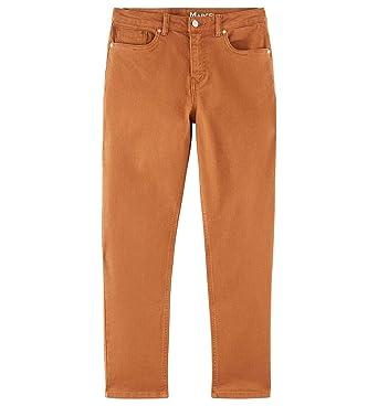 83a8aa0ec35e1e Promod Jean mom Taille Haute Marcel Camel 36: Amazon.fr: Vêtements ...