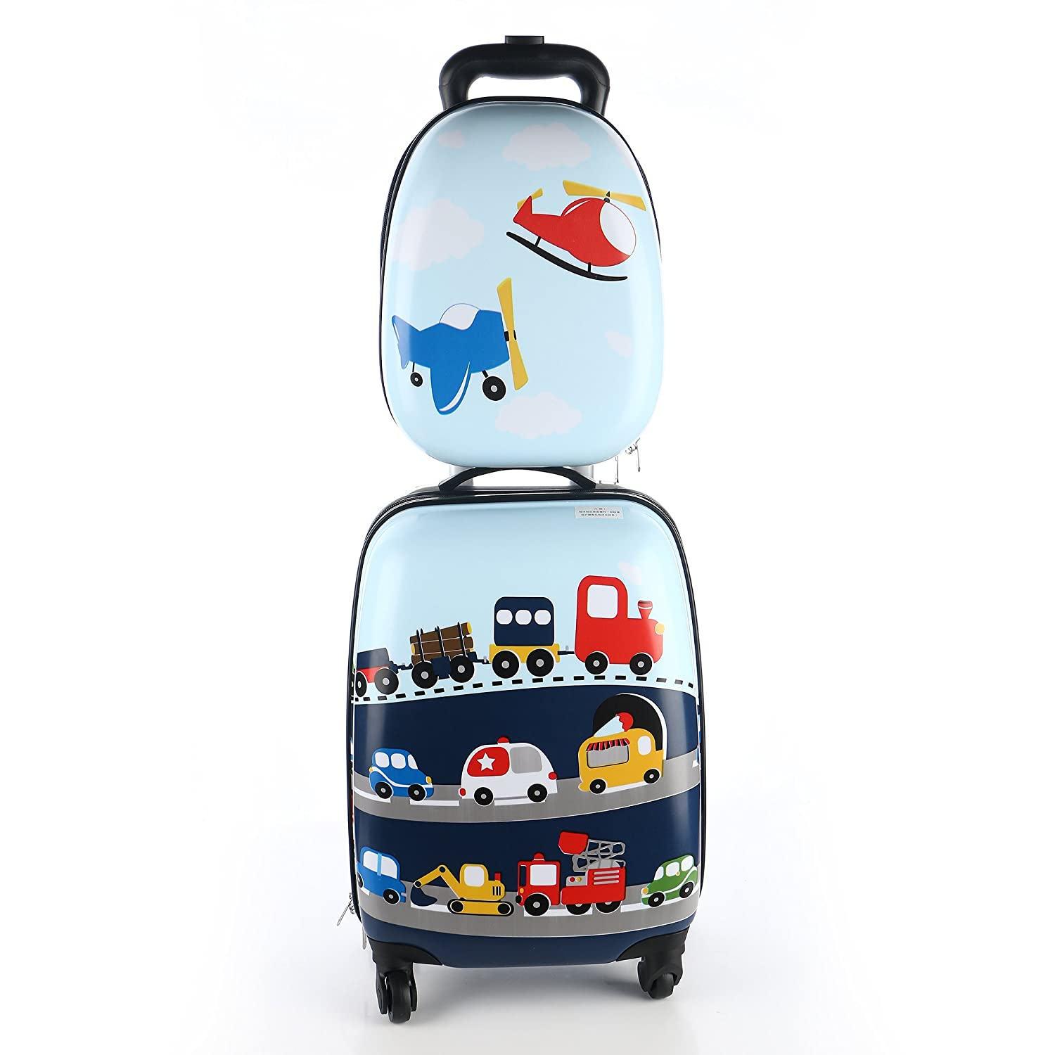 kids luggage  iplay ilearn boy's luggage set  inch luggage   - kids luggage  iplay ilearn boy's luggage set  inch luggage  inchbackpack( cars ) amazoncouk luggage