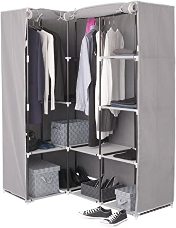 Marque Five Simply Smart Armoire D Angle 1 Penderie 10 Etageres