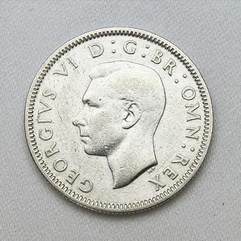 Amazon | 1938年 1シリング 銀貨 コイン イギリス スコットランド 通貨 ...