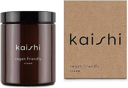 Kaishi - Crema Vegan Friendly antipolución para hidratar y suavizar, 180 ml