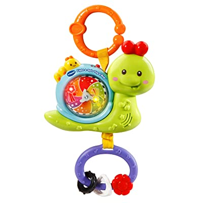 VTech Light and Spin Tug-a-Bug: Toys & Games