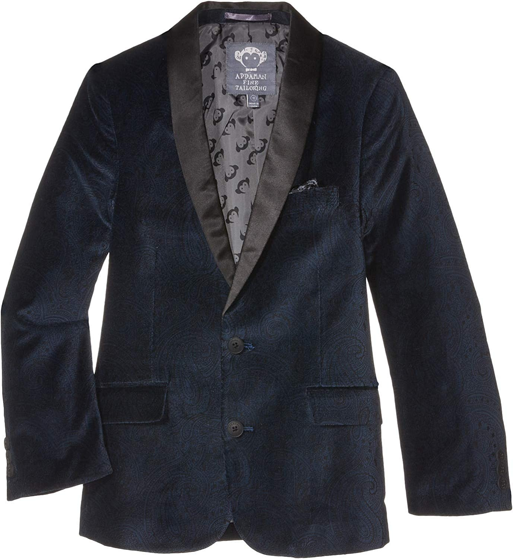 Toddler//Little Kids//Big Kids Appaman Kids Boys Shawl Collar Blazer