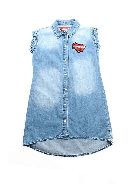 ben noto grande vendita pensieri su relish VSRE181323JF Abiti Bambina Blu Denim 8A: Amazon.it ...