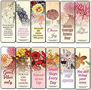 Adults 30-Pack Employee Rewards Incentives Awesome Bookmark Collection Stocking Stuffers Gift for Men /& Women Business Gifts Creanoso Vintage Rose Flowers Bookmarker Cards