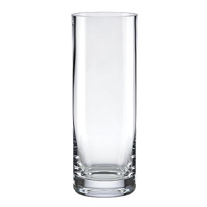 Amazon Lenox Garden Crystal Cylinder Vase 12 Inch Home Kitchen