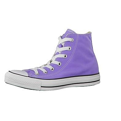 Converse Chuck Taylor Hi LILA 142364C Size: UK 9,5: Amazon