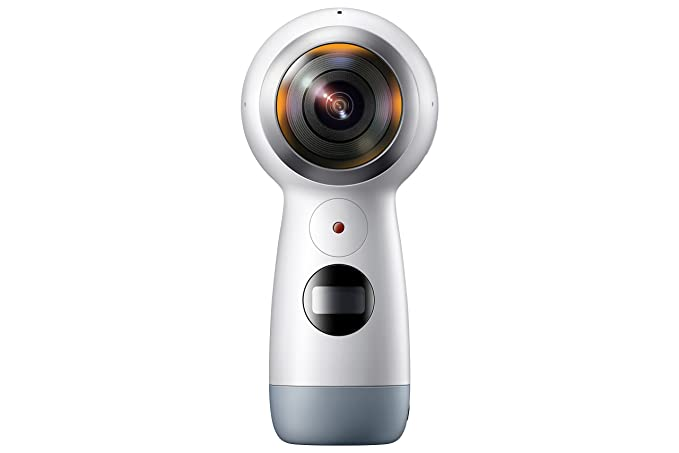 מפואר Amazon.com: Samsung Gear 360 (2017 Edition) Real 360° 4K VR Camera YU-88