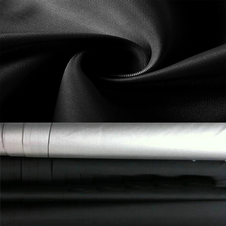 Cubierta Duradera de Parrilla de Barbacoa con Tela Resistente a la Intemperie Resistente Grande 145cm Negro a Prueba de Agua Aisoul Cubierta de Barbacoa