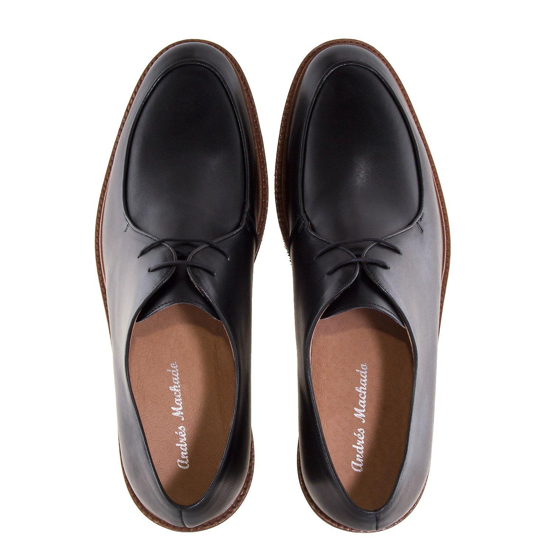 Andres Machado   6274   Herrenschuhe aus aus aus hochwertigem Leder   Made IN Spain  .EU 47 bis 50 6274 Gast Schwarz accc0c
