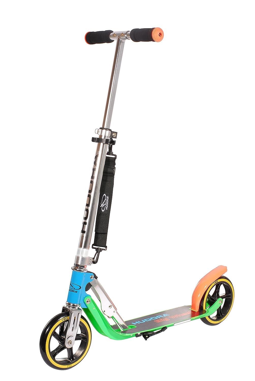Hudora Big Wheel 180 - Patinete clásico, color lila