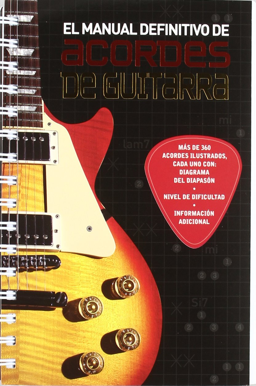 MANUAL ACORDES DE GUITARRA-PARRAGON (Spanish) Paperback