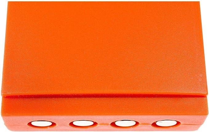 Akku für Funkfernbedienung HBC Radiomatic Linus 4 3,6V 2000mAh//7,2Wh NiMH Orange