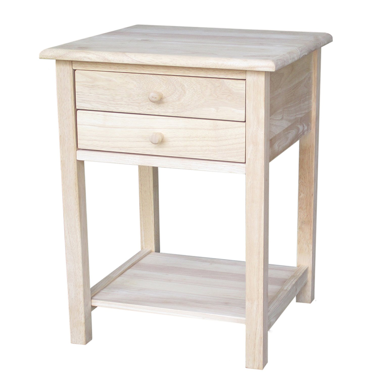 International Concepts OT-92 Lamp Table, Unfinished