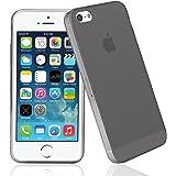 Coque iPhone SE/iPhone 5S/iPhone 5,Bingsale Coque Apple Iphone SE 5S 5 Etui Silicone Gel Housse (iPhone SE 5s 5, gris)
