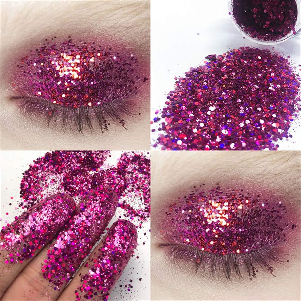 callm Shimmer Glitter Eye Shadow Powder Palette Sequin Matte Eyeshadow Cosmetic Makeup