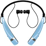 LG Electronics Tone Pro HBS-760 Bluetooth Wireless Stereo Headset - Retail Packaging - Blue