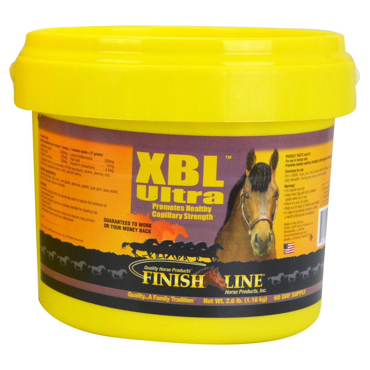 Finish Line Horse Products Xbl Powder (2.6-Pounds)