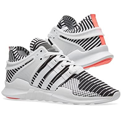 best loved 7c27c b0f33 Amazon.com  Mens EQT Support ADV PK White Sneaker  Fashion S