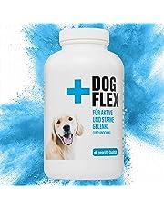 Flex Dog Nahrungsergänzungsmittel Gelenke für Hunde, Grünlippmuschelpulver Hund, Schutz gegen Arthrose, Glucosamin, Chondroitin, MSM, Teufelskralle hochdosiert, 150 Tabletten