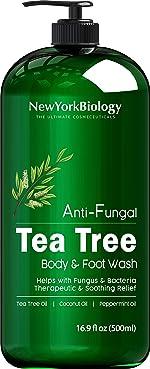 Antifungal Tea Tree Body Wash - HUGE 16 OZ - Helps