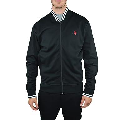 Ralph Lauren - Chaqueta deportiva - chaqueta guateada - para hombre negro XL: Amazon.es: Ropa y accesorios