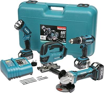 Makita DK1894 - Juego de herramientas eléctricas (pack de 4 ...
