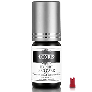 SENSITIVE Lonris Individual Eyelash Extension Glue - Best Eyelash Glue For Individual Lashes