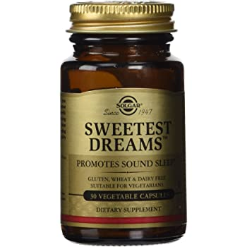 Solgar - Sweetest Dreams Vegetable Capsules (Supplying L-Theanine and Melatonin) 30 Count