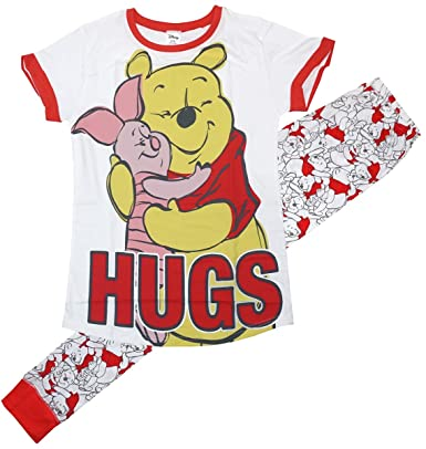 Womens Disney Winnie The Pooh   Piglet Hugs Gift Pack Pyjamas Plus Sizes  from 8 to 926c4b1c50
