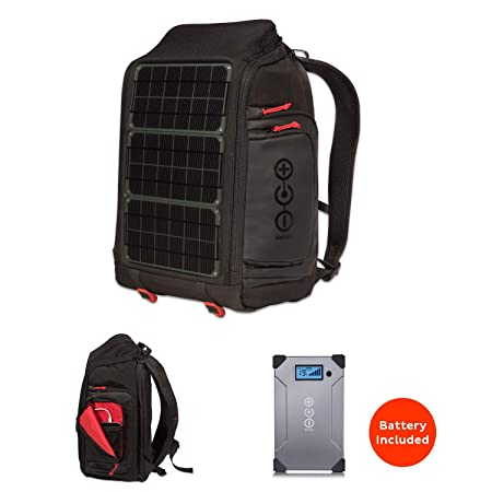 side facing voltaic systems solar backpack