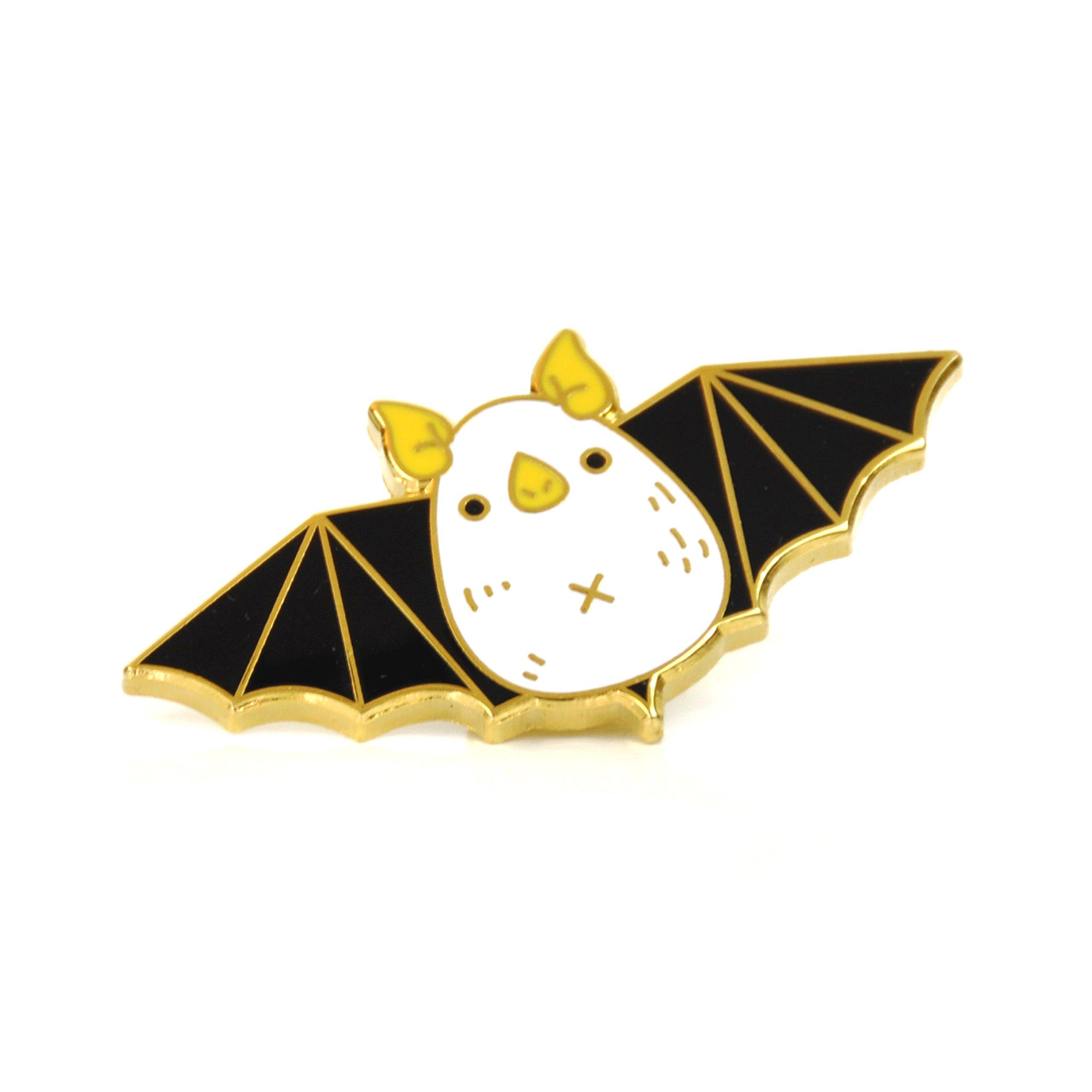 Noristudio Honduran White Bat Enamel pin