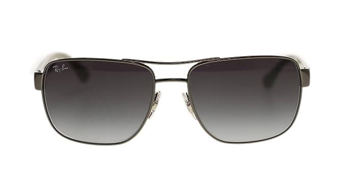 c9321defe9 Ray Ban Mens Sunglasses RB3530 004 8G Gunmetal Gray Gradient Lens 58mm  Authentic