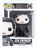 Funko 4073 - Game of Thrones, Pop Vinyl Figure 26 Jon Snow Castle Black, 10 cm