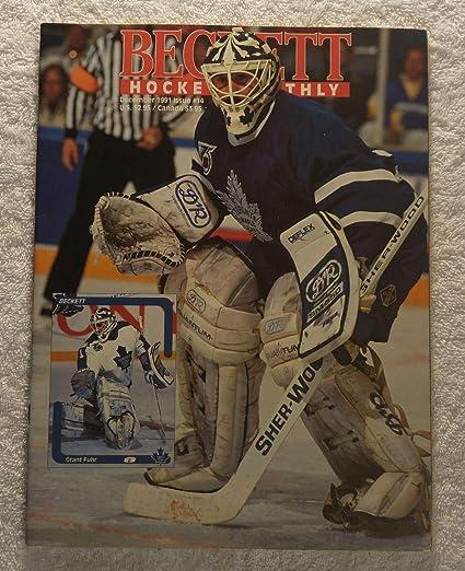 Amazoncom Grant Fuhr Toronto Maple Leafs Beckett