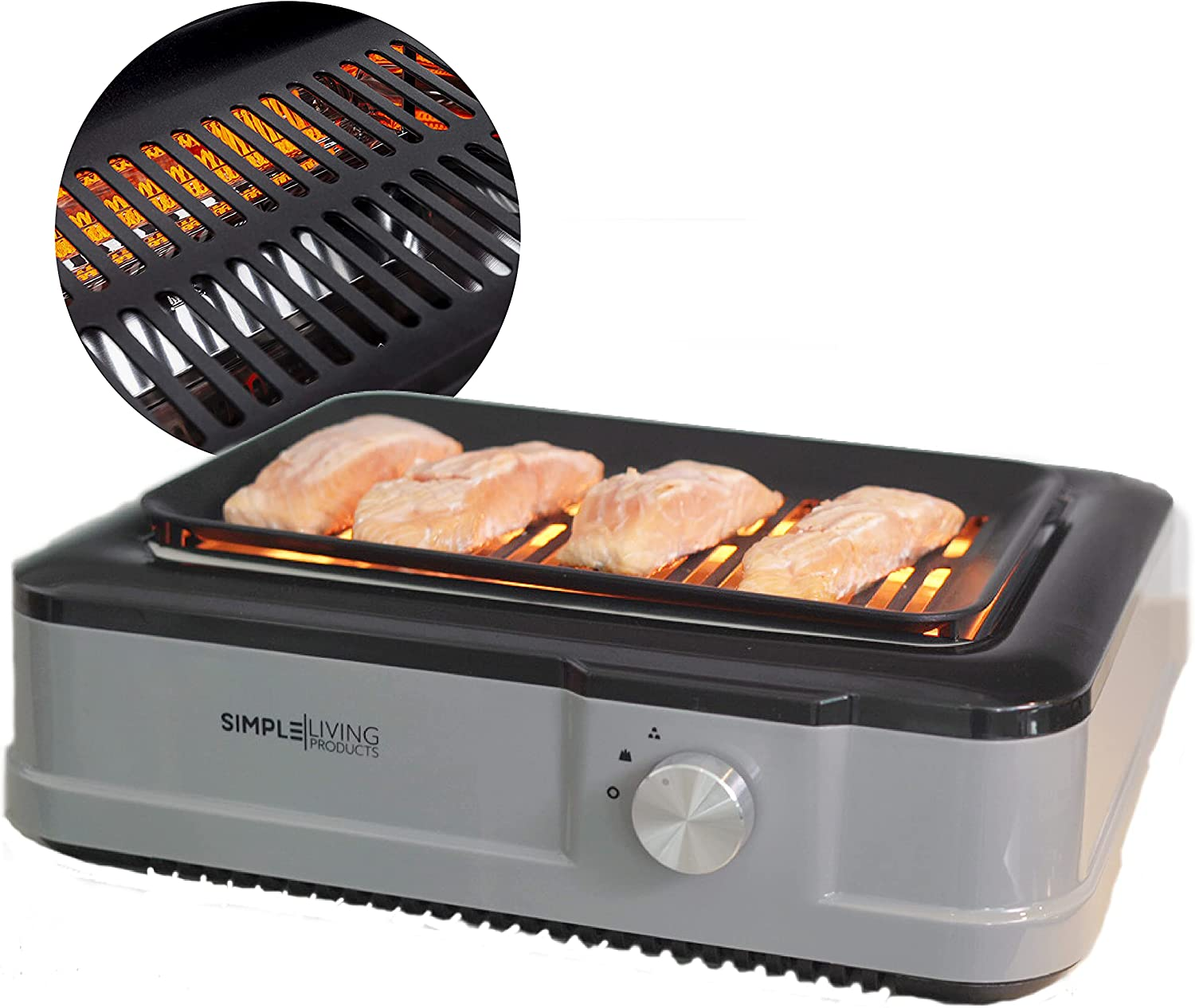 Simple Living Products Infrared Indoor Smokeless Grill
