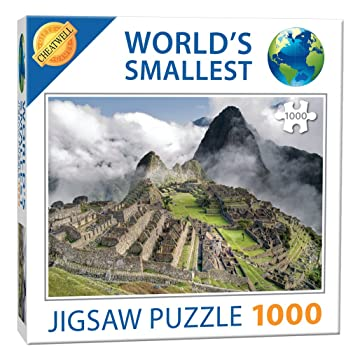 Cheatwell Games Mas Pequeno Del Mundo Jigsaw Machu Picchu Amazon Es