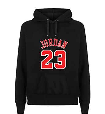 Jordan 23 Number Basketball Capucha Hoodie Sudadera Sweater Sweatshirt Camisa De Entrenamiento Cumpleaños: Amazon.es: Ropa y accesorios