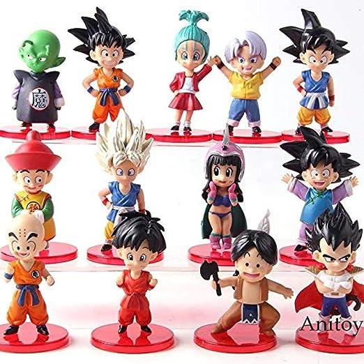 13 Piezas/Set Dragon Ball Z Disfraz de baño Son Goku Gohan Goten ...