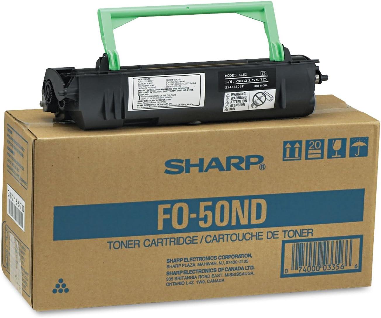 B0000AI47F Sharp FO50ND Toner Cartridge 71jM2BkaaXzL.SL1500_